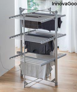 Hopfällbar och elektrisk tvättlina Indryer (36 Stänger) 300W