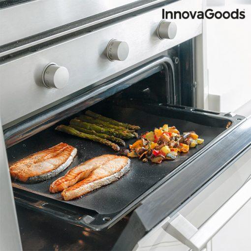 Underlägg för ugn och grill InnovaGoods (2 st)