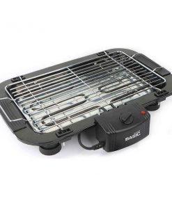 Elektriska Grillen Basic Home 2000W Svart (52 X 52 x 38 cm)