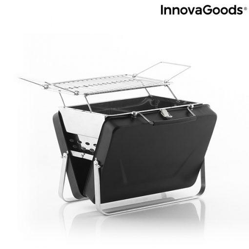 Hopfällbar och bärbar kolgrill Handy·q InnovaGoods