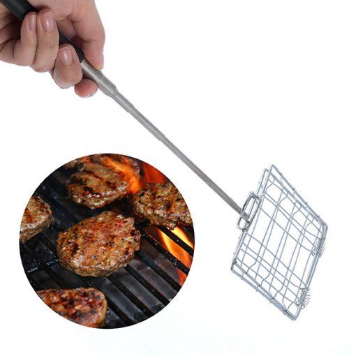 Förlängningsbart minigaller för grill