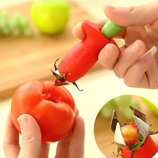 Jordgubbssnoppare - Ta bort blasten på jordgubben