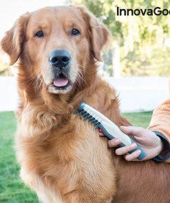 Elektrisk tovskärande kam för hundar InnovaGoods