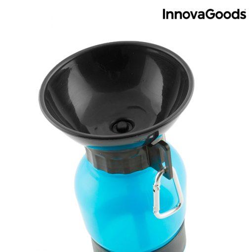Vattenflaska med drickskål för hundar InnovaGoods