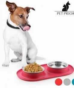 Glidsäker vattenskål för djur Pet Prior