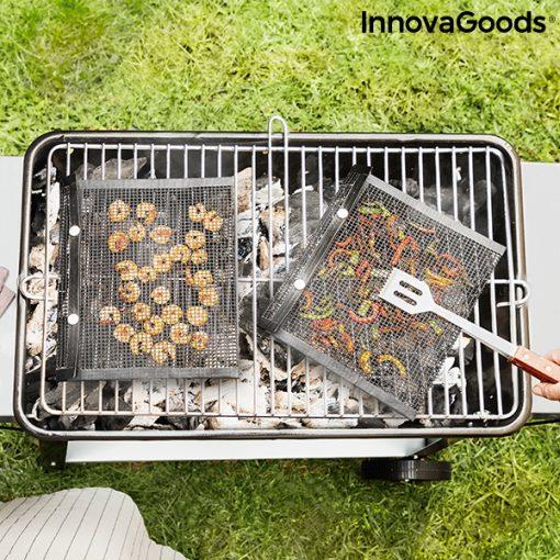 Meshpåsar för grillning Bbqnet InnovaGoods (2 St)