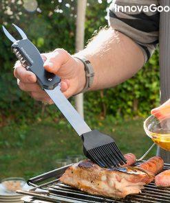 Set med Redskap för Barbecue 5 i 1 Bbkit InnovaGoods