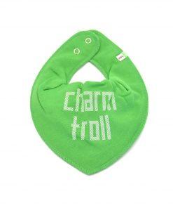 Pippi Haklapp / dry bib - grön- Charmtroll