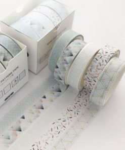 Washi och dekorationstejp 5 pack Country