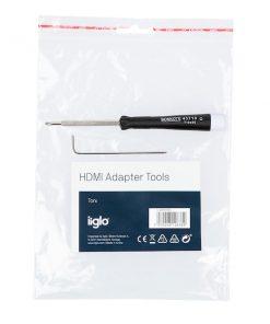 iiglo AV adapterkit verktyg