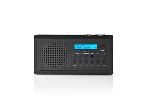 Nedis DAB+ Radio, sort