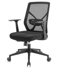 Ergonomisk kontorsstol med hög rygg