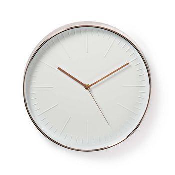 Väggklocka | Diameter: 30 cm | Trendig
