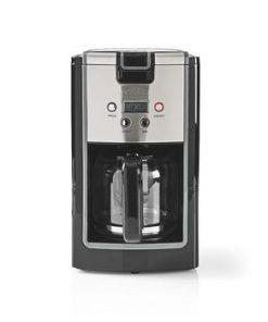 Kaffebryggare   Maxkapacitet: 1.2 l   12   Varmhållningsfunktion   Slå på timern   Svart/Metall