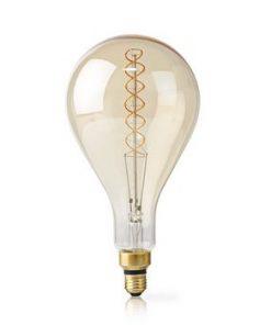 LED Glödlampa E27 | A160 | 5 W | 280 lm | 2000 K | Varm Vit | Retrostil | Antal lampor i förpackning: 1