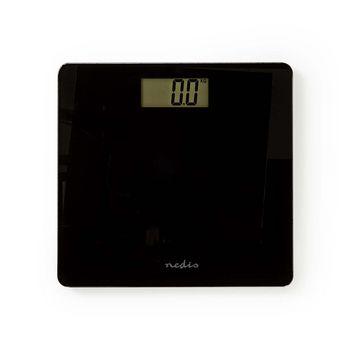 Digitala Person vågar | Digital | Svart | Härdat Glas | Maximal vägningskapacitet: 180 kg