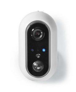 Smartlife utomhus kamera   Wi-Fi   Full HD 1080p   IP65   Maximalt batteritid: 4 månader   Cloud / DRM-stöd   5 VDC   Med rörelsesensor   Nattsikt   Android™ & iOS   Vit