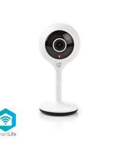 Smart Inomhus kamera   Wi-Fi   HD 720p   Cloud / DRM-stöd   Nattsikt   Android™ & iOS   Vit