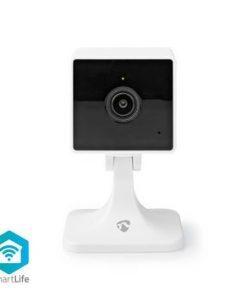 Smart Inomhus kamera   Wi-Fi   Full HD 1080p   Cloud / DRM-stöd   Nattsikt   Android™ & iOS   Vit
