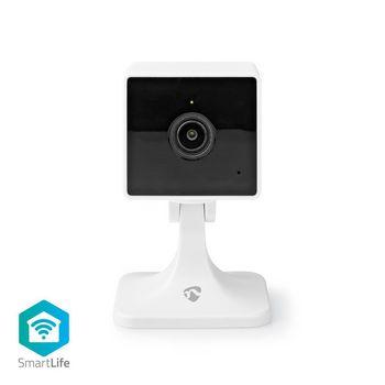 Smart Inomhus kamera | Wi-Fi | Full HD 1080p | Cloud / DRM-stöd | Nattsikt | Android™ & iOS | Vit