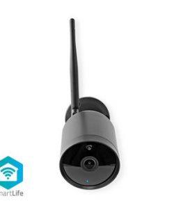 Smartlife utomhus kamera   Wi-Fi   Full HD 1080p   IP65   Cloud / DRM-stöd   12 V DC   Nattsikt   Android™ & iOS   Svart
