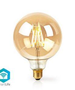 SmartLife LED vintage lampa   Wi-Fi   E27   500 lm   5 W   Varm Vit   2200 K   Android™ & iOS   Diameter: 125 mm   G125