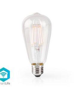 SmartLife LED vintage lampa   Wi-Fi   E27   500 lm   5 W   Varm Vit   2700 K   Android™ & iOS   Diameter: 64 mm   ST64