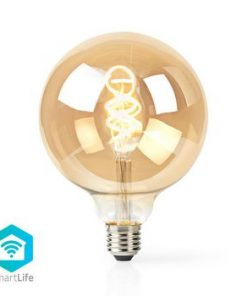 SmartLife LED vintage lampa   Wi-Fi   E27   350 lm   5.5 W   Kall Vit / Varm Vit   1800 - 6500 K   Android™ & iOS   Diameter: 125 mm   G125