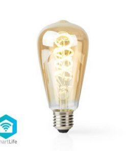 SmartLife LED vintage lampa   Wi-Fi   E27   350 lm   5.5 W   Kall Vit / Varm Vit   1800 - 6500 K   Android™ & iOS   Diameter: 64 mm   ST64