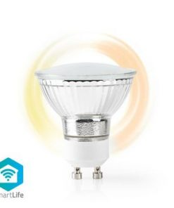 SmartLife LED Bulb   Wi-Fi   GU10   330 lm   5 W   Varm Vit   1800 - 2700 K   Energiklass: A+   Android™ & iOS   Diameter: 50 mm   PAR16