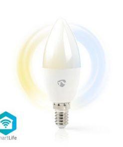SmartLife LED Bulb | Wi-Fi | E14 | 350 lm | 4.5 W | Kall Vit / Varm Vit | 2700 - 6500 K | Energiklass: A+ | Android™ & iOS | Diameter: 37 mm | Ljus