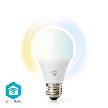 SmartLife LED Bulb   Wi-Fi   E27   800 lm   9 W   Kall Vit / Varm Vit   2700 - 6500 K   Energiklass: A+   Android™ & iOS   Diameter: 60 mm   A60