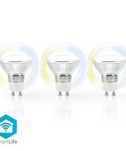 SmartLife LED Bulb   Wi-Fi   GU10   400 lm   5 W   Kall Vit / Varm Vit   2700 - 6500 K   Energiklass: A+   Android™ & iOS   Diameter: 50 mm   PAR16