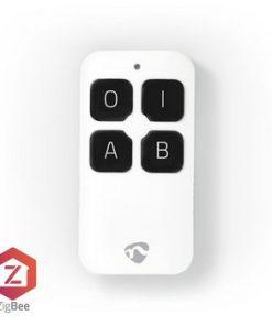 Smart fjärrkontroll   ZigBee   4 knappar   Batteri ingår   Vit