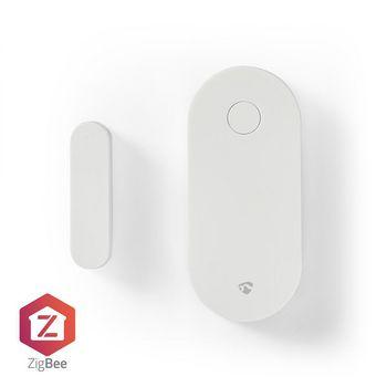 Smart dörr- eller fönstersensor | Zigbee | Batteri ingår