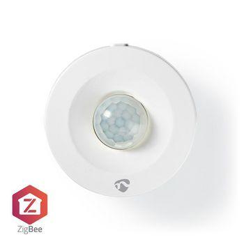 SmartLife Smartrörelsesensor   Zigbee   Batteridriven   IP20   Detektorvinkel: 120 °   Detektorområde: 7 m   Maximalt batteritid: 1 år   Android™ & iOS   Vit