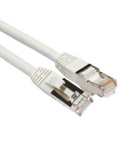 Nätverkskabel Cat6a grå 1,5m