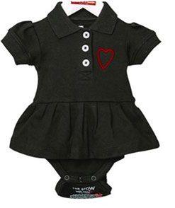 Babyklänning svart - Lundmyr of Sweden