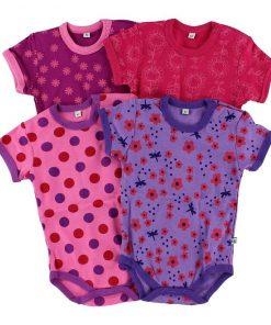 Body barn - 4 pack i olika färger - Pippi