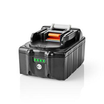 Batteri till Elverktyg | Li-jon | 18 V | 4 Ah | 72 Wh | Ersättning till Makita