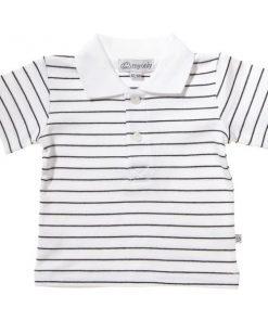 Svart T-shirt med krage - MyOnly