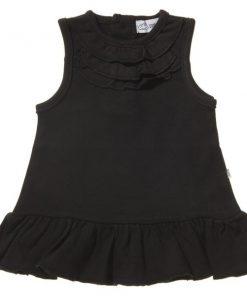 Vit ärmlös klänning - MyOnly