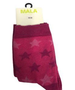 Strumpor rosa med stjärnor 2pack - MALA