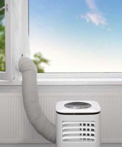 Fönstertätning för luftkonditionering | 400 cm | Till lutnings-/vridfönster